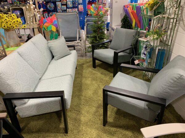 3 piece cushion set