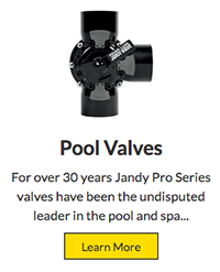 pool valves